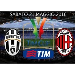 Milan vs Juventus -Finale Coppa Italia 2015/16